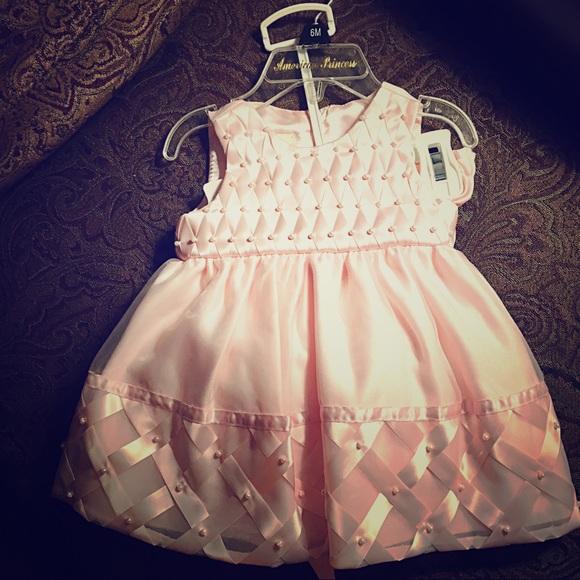 American Princess Dresses | Satin Baby Dress Bloomers | Poshmark